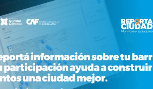 Reporta Ciudad, monitoreo ciudadano