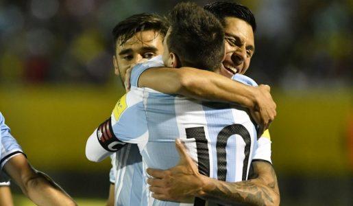 Messi y Argentina necesitaban un Pérez