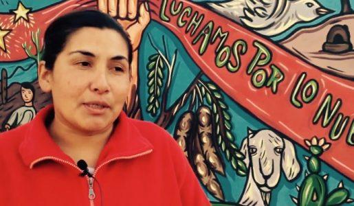Mujeres que defienden su tierra ancestral