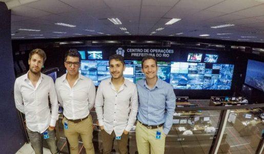 Visita al Centro de Operaciones de Río (COR)