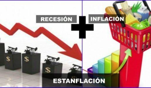 Inflación con recesión