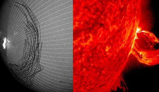 Explicación para tsunamis solares