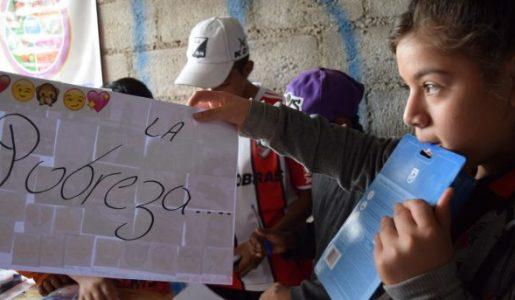 5,5 millones de niñas/os bajo la línea de pobreza