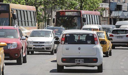 Los gases del tránsito vehicular